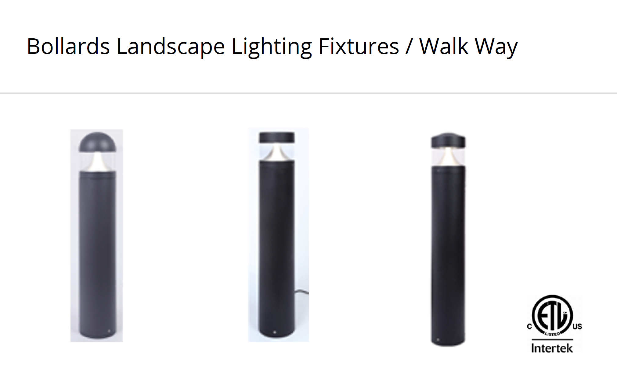 oulighting bollard landscape lighting fixtures walk way