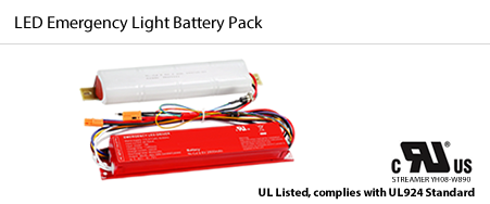 oulighting LED Emergency light battery pack